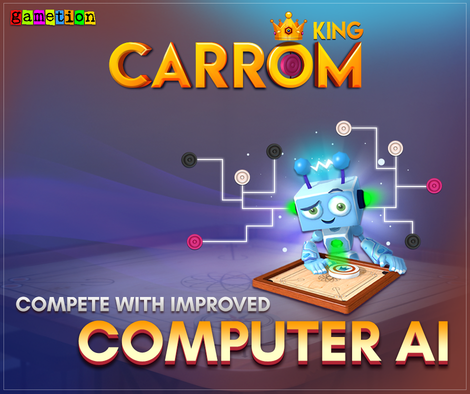 Carrom King update: Improved Computer AI