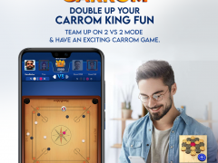 Carrom King team up mode